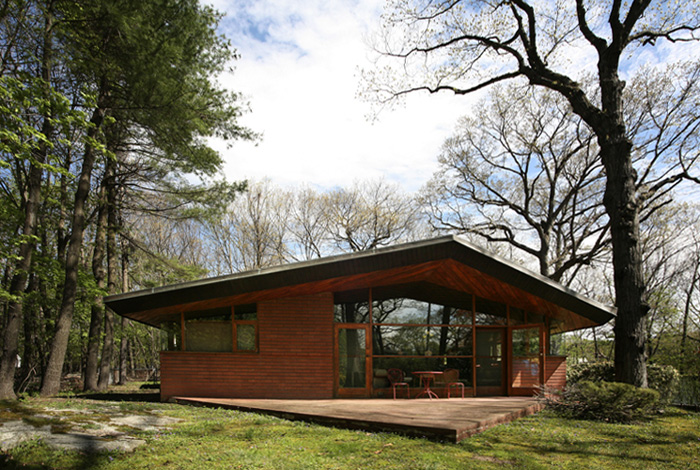 18 surprisingly usonian style house plans house plans 6497 for Usonian style house plans